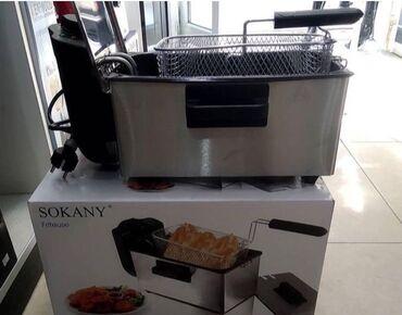 fri - Azərbaycan: Kartof qizardan Kartof fri Sokanya Sonifer firmasi 3-lt yag tutumu