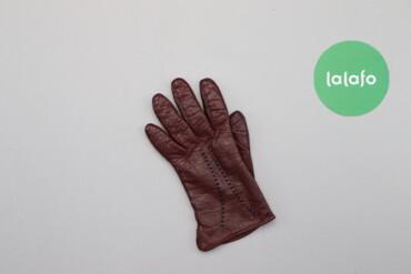 Аксессуары - Украина: Чоловіча коричнева рукавичка    Довжина: 22 см Ширина: 10 см  Стан гар