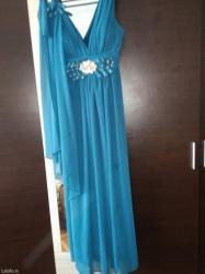 Svecana haljina,tri puta obucena,dobro ocuvana. - Novi Pazar