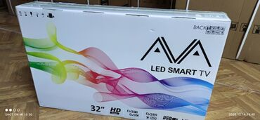 телевизор века в Кыргызстан: Продаю телевизоры оптом и в розницуAVA 32 дюйм АндроидIps