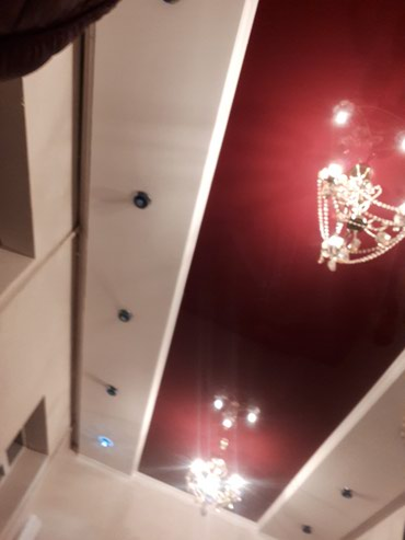 Натяжной потолок  материал + работа в Бишкек