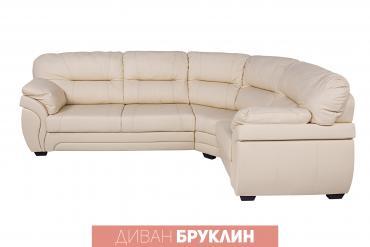 """ами мебель кухонный угловой диван николетти в Кыргызстан: Диван """"Бруклин"""" угол с тумбой. Сделано в России. Мебельная"""