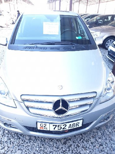 Mercedes-Benz в Кыргызстан: Mercedes-Benz B 200 2 л. 2011 | 142000 км