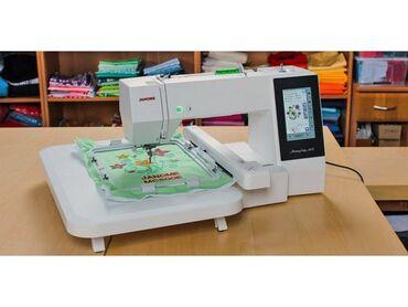Продаю швейную машинку для компьютерной вышивки janome memory craft
