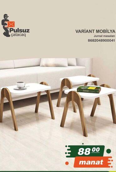 Variant mobilya Jurnal masaları