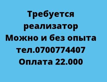 требуется реализатор в Кыргызстан: Требуется реализатор!!! Можно без опыта. Сами обучим. График работы с