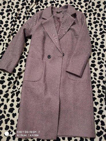 Новое модное пальто, Деми, женская, 46 размер, качество отличное