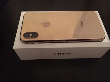 Bakı şəhərində IPhone XS Gold 64gb Cox ishlenmeyib teze kimidi