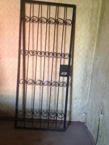 Белые двери - Азербайджан: Железная решётка,дверьс замком. Смотреть в пос Мардакяны