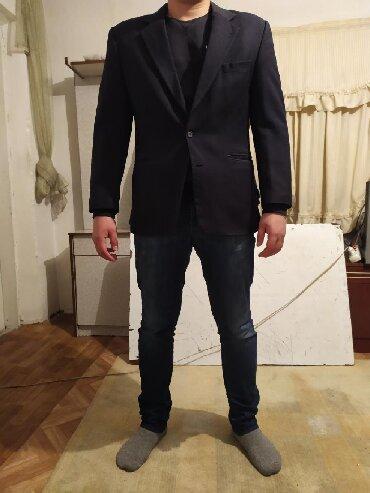 Костюмы - Кок-Ой: Классический костюм, в хорошем состоянии, цвет темно синий, размер 50
