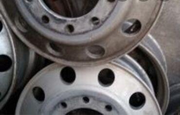 диски на внедорожник в Ак-Джол: На прицеп диски,титанки.алюминевые,бочка.2 штуки.фуру