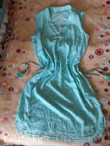турецкое летнее платье в Кыргызстан: Новая летняя платья-туника турецкий. размер наш 46-48. пишите сюда