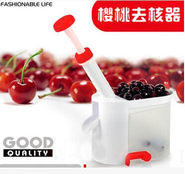 Машинка для чистки вишни и черешни от косточек. Очень удобная штучка!