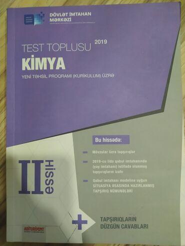 kimya - Azərbaycan: Kimya Toplu 2 hissə