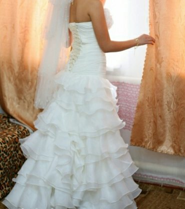 Продаётся свадебное платье,в хорошем состоянии. торг уместен в Бишкек