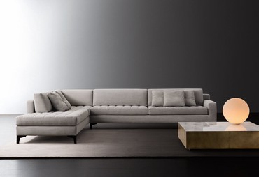 Угловой диван Элегант отлично подойдет для интерьера практически в люб