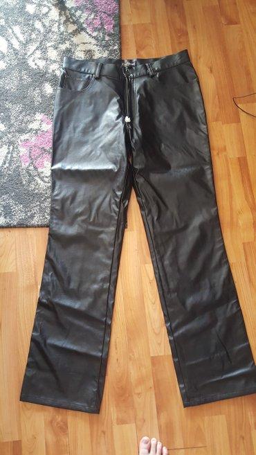 Nove pantalone od eko koze vel.34 - Leskovac