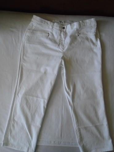 Bele pantalone vrhunskog kvaliteta, poznate marke Ulla Popken, nove - Belgrade