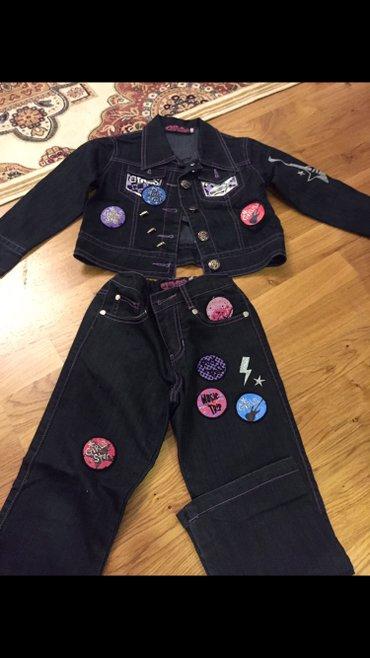 Стильный! Корейский! Новый костюмчик джинсовый! в Бишкек