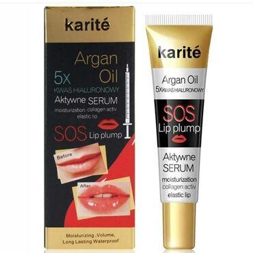 Kosmetika - Xırdalan: Сыворотка для увеличения объема губ Karite Аrgan oilКрасивые пухлые
