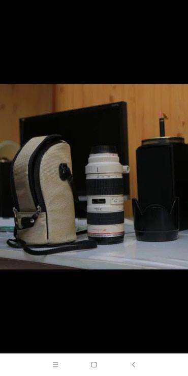 Qusar şəhərində Canon EF 70-200mm f/2.8L teze kimidi.Nomrenin whatsappi da