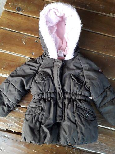 74 - Srbija: Zimska jakna za devojcice,broj 74,dobro ocuvana
