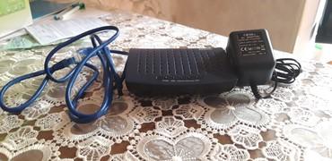adsl - Azərbaycan: ADSL modem - WLAN kabellə goşulur Wifi deyil.İstifadə olunmayıb