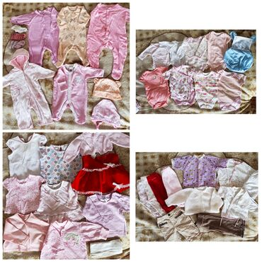 Детский мир - Арчалы: Пакеты вещей на девочку 0-3 месяца. Вещи качественные, фирменные Цена