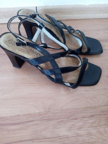 Kozne sandale malo nosene,kao nove bez ostecenja br 38 - Loznica