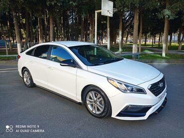bmw monitor - Azərbaycan: Hyundai Sonata 1.6 l. 2015 | 80000 km