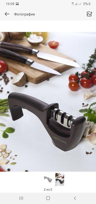 Кухонные принадлежности в Токмак: Грильница, сковородка антипригарным покрытием, точка для ножей с