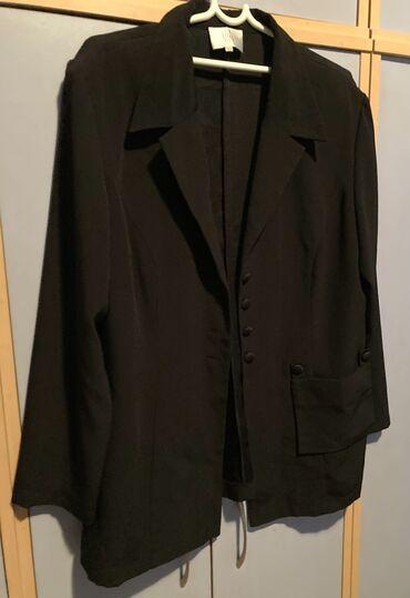 Crni sako vrhunskog kvaliteta velicina 44
