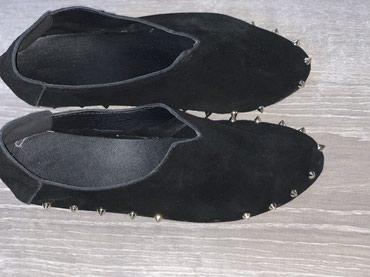 Ботинки, замшевые черные с шипами, размер 39,40, нет 2 шипа в Бишкек