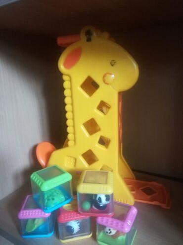 Fisher price - Srbija: Žirafa fisher-price, od kvalitetne plastike za decu mlađeg uzrasta