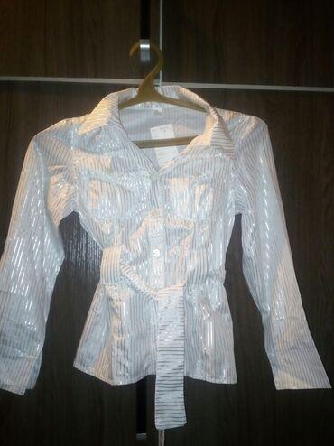 Рубашечная В школу до 10 лет новая 100сом распродажа