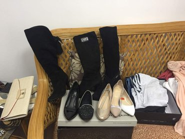 Продаю обувь ,новая и б\у, цены и размеры указаны на фото в Бишкек