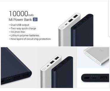 Bakı şəhərində Xiaomi orjinal 10000 mah powerbank zemanwtli
