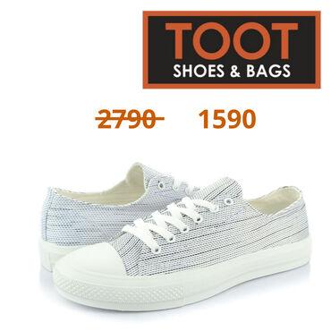 43-размер в Кыргызстан: Toot shoes&bags кеды артикул:  детали цвет белый  сезон весна, л