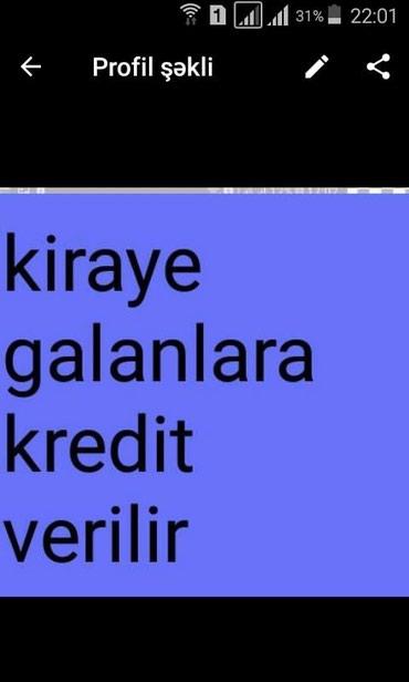 Bakı şəhərində Krosna kredit