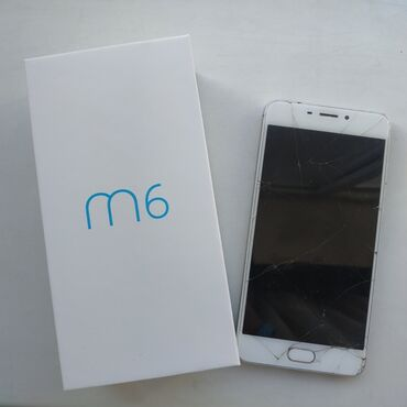 meizu m6 синий в Кыргызстан: Meizu M6 Разбитый экран, но ремонт стоит около 1,5 тысяч сомов.На