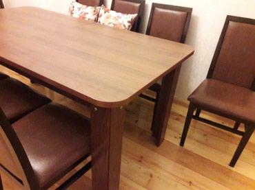 Bu masanın şabalıdı rəngində olanı satılır. 1 il istifadə olunub və