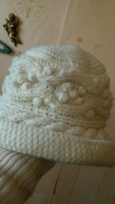 Шапка вязаня импортная бу 100сом в Бишкек