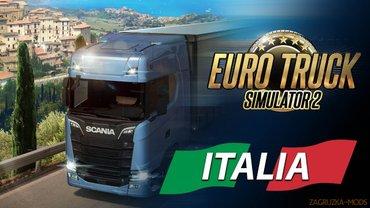 Euro Truck Simulator 2: ITALIA igra za pc (racunar i - Boljevac