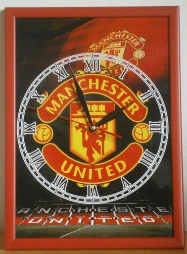 Zidni sat Manchester united  - Beograd