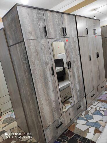 Садовая одежда - Кыргызстан: Шкафы Новый ламинат рассийский в наличии есть доставка установка