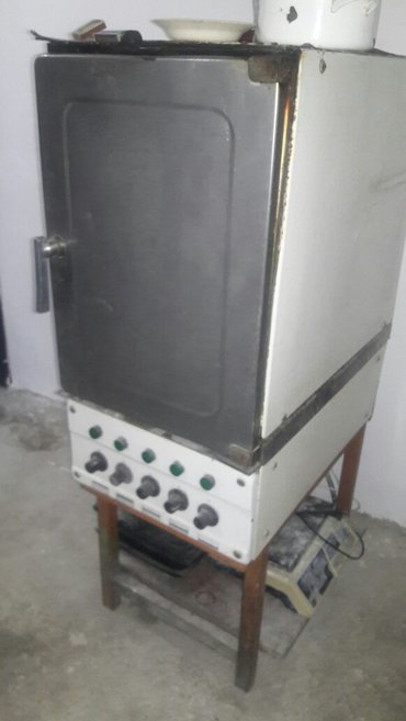 Xırdalan şəhərində Çörək və Şirniyyat sexi üçün elektrik soba. Russia istehsalı. 3 faza.