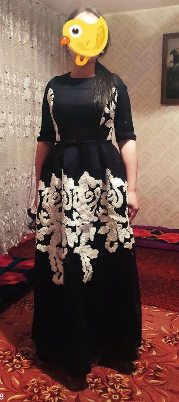 пышное платье в пол в Кыргызстан: Пышное платье в пол. Брали за 3800с. Носили один раз на корпоратив
