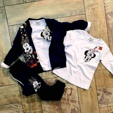 Dečija odeća i obuća - Ivanjica: Trodelni-puniji Mini 2/3,3/4,5/6,7/8,9/10 2450 DINARA