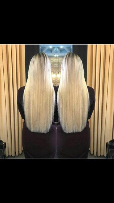 Акция!!!Наращивание волос от-900сом в Бишкек