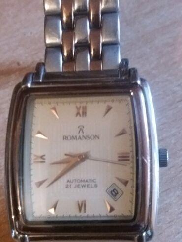 ecco 23 в Кыргызстан: Серебристые Мужские Наручные часы Romanson